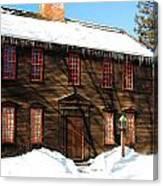 Allen House Deerfield Ma Canvas Print