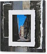 Alley 3rd Ward And Abstract Canvas Print