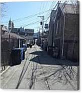 Alley 43 Canvas Print