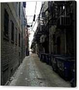 Alley 7 Canvas Print