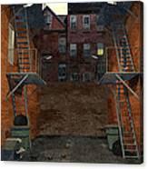 Alley At Dusk Canvas Print