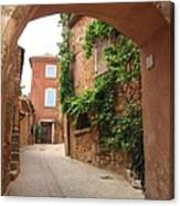 Alley In Roussillion Canvas Print