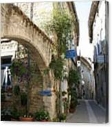 Alley In The Procence Canvas Print