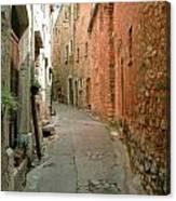 Alley In Tourrette-sur-loup Canvas Print