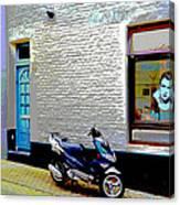 Alley In Venlo Canvas Print