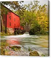 Alley Spring Mill - Eminence Missouri Canvas Print