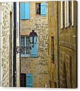 Alleys Of Sarlat II Canvas Print