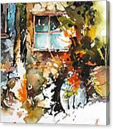 Alleyway Charm Canvas Print