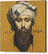 Alli Baba Canvas Print