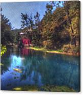 Ally Springs Mill  The Fall Canvas Print