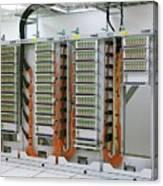 Alma Fibre Optics Panels Canvas Print
