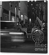 Almost Midnight - Modern Day Cinderella Canvas Print