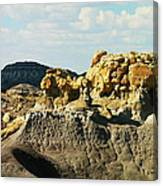 Almost Moonscape Canvas Print