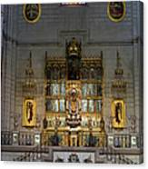 Almudena Cathedral Altar Canvas Print