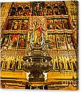 Almudena Cathedral Canvas Print