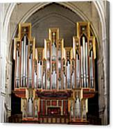 Almudena Cathedral Organ Canvas Print