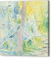 Aloes At Villa Ratti Canvas Print