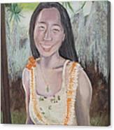 Aloha Jade Canvas Print