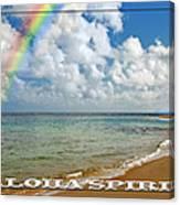 Aloha Spirit Canvas Print