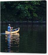 Alone On The Lake Canvas Print