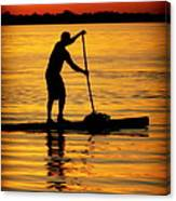 Alone With The Sun Canvas Print