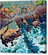 Along California Coastline Canvas Print