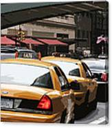 Along Grand Central Canvas Print