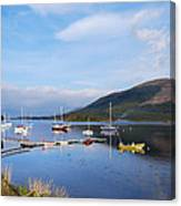 Along Loch Leven 2 Canvas Print