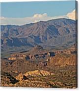 Along The Apache Trail Canvas Print