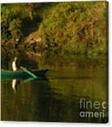 Along The Nile Canvas Print