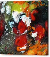 Along The Orange String Road Canvas Print