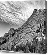 Along The Peak To Peak Canvas Print