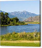 Along Yellowstone  Canvas Print