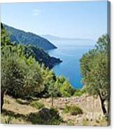 Alonissos Island Canvas Print