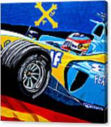 Alonso Canvas Print