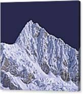 Alpamayo Peru Canvas Print