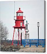 Alpena Lighthouse Canvas Print