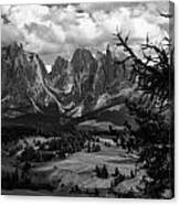 Alpes IIi Canvas Print
