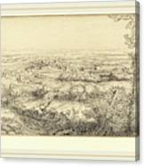 Alphonse Legros, Valley In Bourgogne Une Vallee En Bourgogne Canvas Print