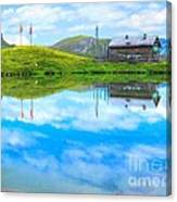Alpine Blue Canvas Print
