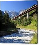 Alpine Highway Canvas Print