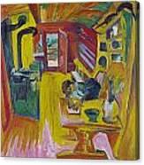 Alpine Kitchen Canvas Print