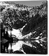 Alpine Lake August 1975 #1 Canvas Print