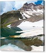 Alpine Reflection In The San Juans Canvas Print