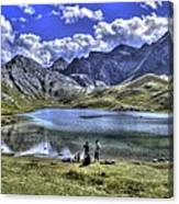 Alps South France Canvas Print