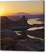 Alstrom Point Sunrise  Canvas Print