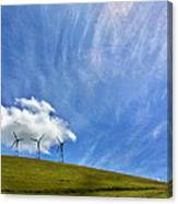 Altamont Windmills Canvas Print