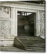 Altar Of Peace Of Augustus. 13 Bc Canvas Print