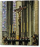 Altar Of Rouen Cathedral Canvas Print