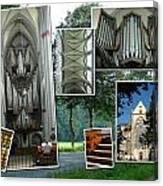 Altenberg Montage Canvas Print